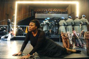 Scène uit  Aida